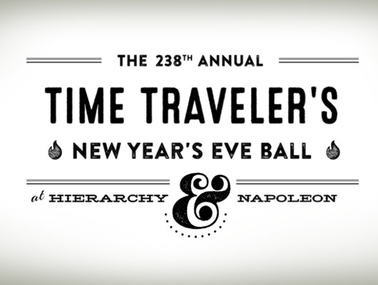 Time Traveler's New Year's Eve Ball