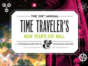 NYE Time Traveler's Ball
