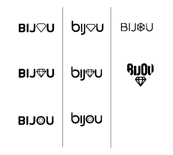Bijou Logo Exploration