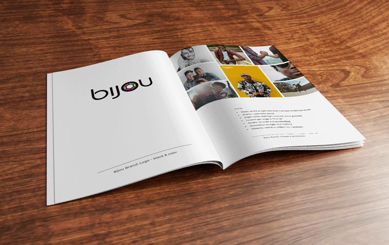 Bijou Brand Book view 1