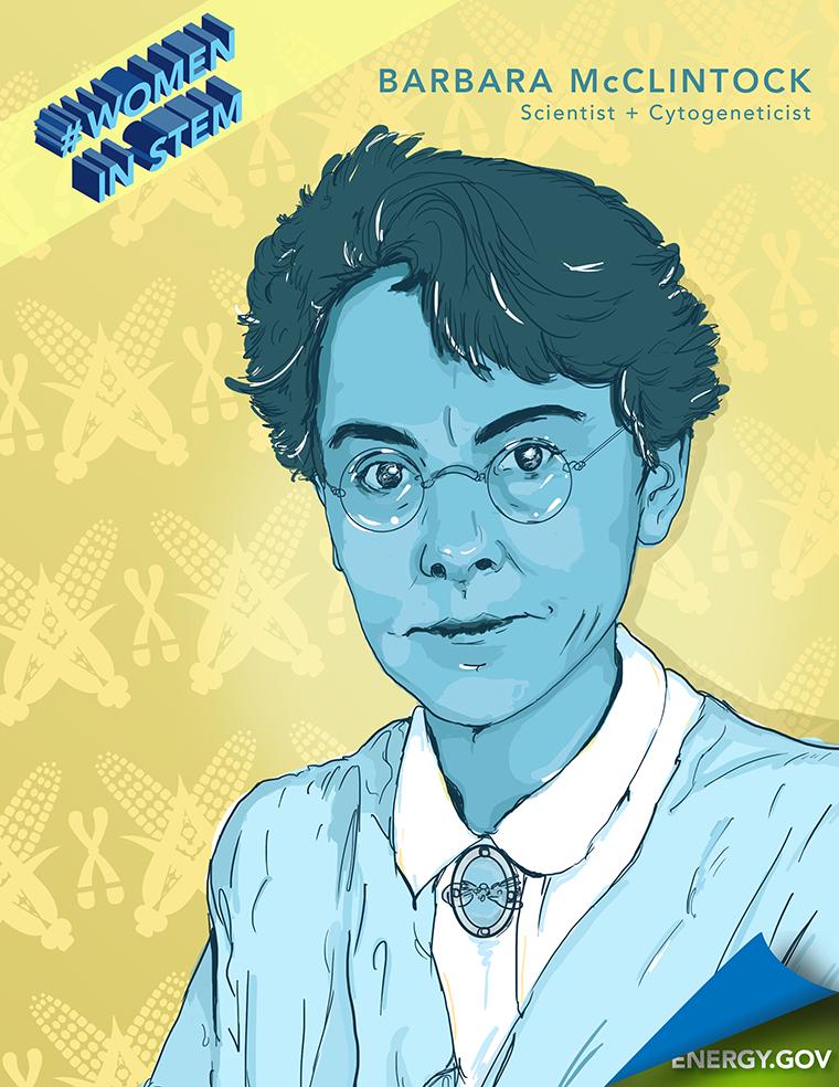 Historical Women in STEM - Barbara McClintock