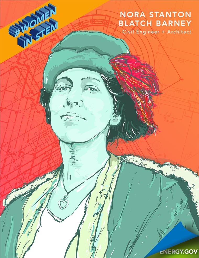 Historical Women in STEM - Nora Stanton Blatch Barney