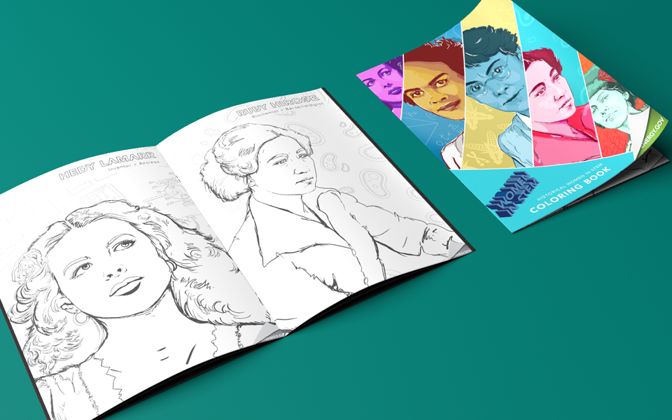 Historical Women in STEM - Book Layout