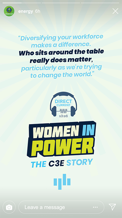 Women in Power: The C3E Story
