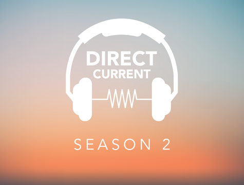 Direct Current podcast graphics