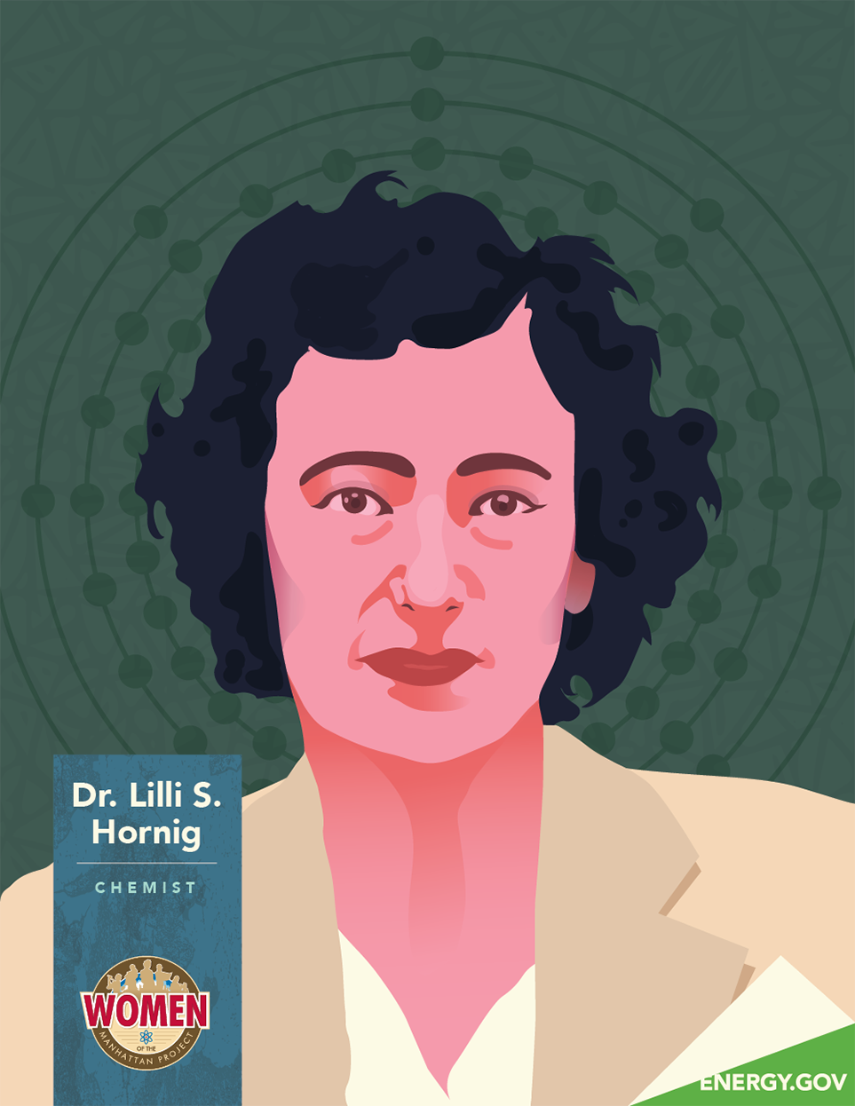 Dr Lilli Hornig illustration