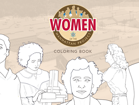 Women in the Manhattan Project Coloring Book