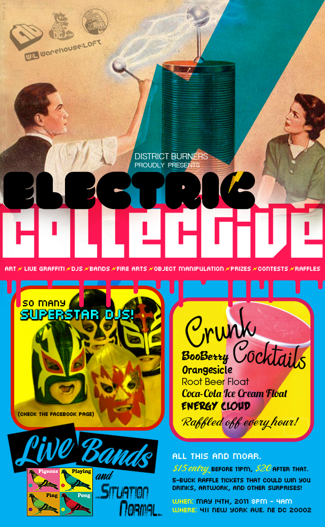 electric collective flyer